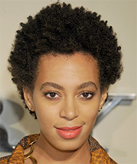 Solange Knowles Hairstyle - click to view hairstyle information