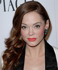Rose McGowan Long Wavy Formal