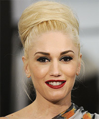 Gwen Stefani - Updo Long Wedding