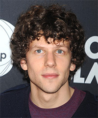 Jesse Eisenberg Hairstyle - click to view hairstyle information