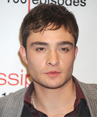 Ed Westwick Hairstyle - click to view hairstyle information