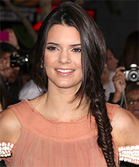 Kendall Jenner - Updo Long Braided