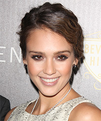 Jessica Alba - Curly Wedding
