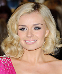 Katherine Jenkins Hairstyle - click to view hairstyle information