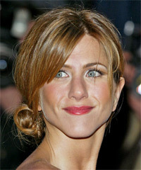 Jennifer Aniston Updo Long Straight Casual