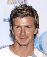 David Beckham Short Straight Casual
