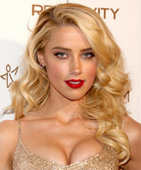 Amber Heard Hairstyle - click to view hairstyle information