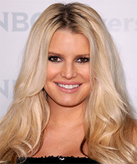 Jessica Simpson Long Wavy Casual