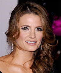 Stana Katic - Half Up Long Curly