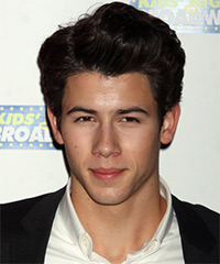 Nick Jonas Hairstyle - click to view hairstyle information