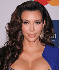 Kim Kardashian - Long Wavy