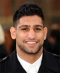 Amir Khan Hairstyle