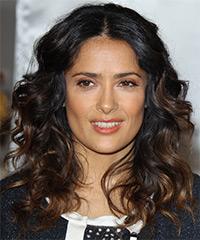 Salma Hayek - Curly
