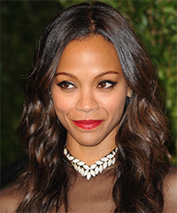 Zoe Saldana Hairstyle - click to view hairstyle information