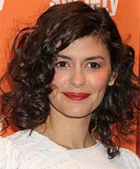 Audrey Tautou  - Curly