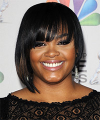 Jill Scott Hairstyle - click to view hairstyle information