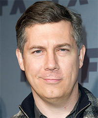 Chris Parnell Short Straight Casual
