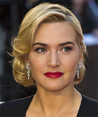 Kate Winslet - Updo Medium Wedding