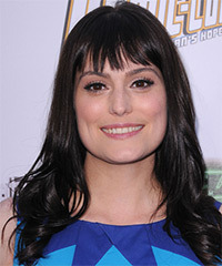 Morgan Webb Hairstyle - click to view hairstyle information