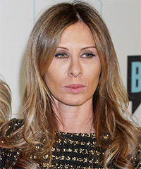 Carole Radziwill Long Straight Casual