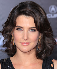 Cobie Smulders Medium Wavy Formal