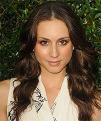 Troian Bellisario Hairstyle - click to view hairstyle information