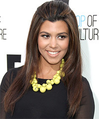 Kourtney Kardashian Hairstyle - click to view hairstyle information