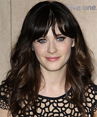 Zooey Deschanel Hairstyle