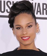 Alicia Keys - Updo Long Straight