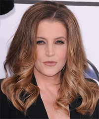 Lisa Maire Presley Hairstyle - click to view hairstyle information