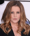 Lisa Maire Presley Hairstyle