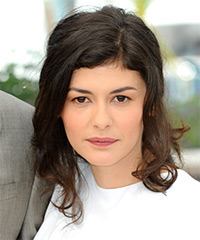 Audrey Tautou Medium Wavy Casual