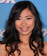 Jessica Sanchez Hairstyle - click to view hairstyle information