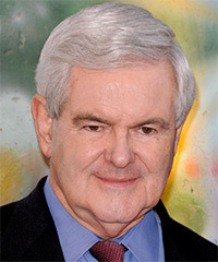 Newt Gingrich Hairstyle - click to view hairstyle information