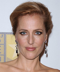 Gillian Anderson - Updo Long Straight