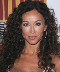 Sofia Milos Long Curly Casual