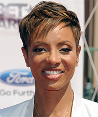 MC Lyte Hairstyle