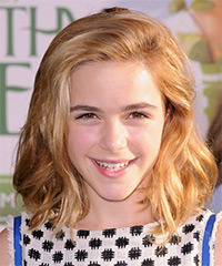 Kiernan Shipka Hairstyle - click to view hairstyle information