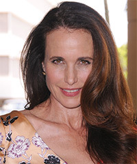 Andie MacDowell Long Straight Formal