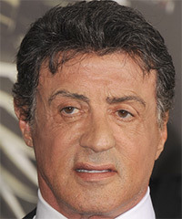 Sylvester Stallone  Hairstyle - click to view hairstyle information