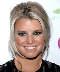 Jessica Simpson - Updo Long Straight