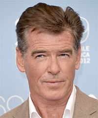 Pierce Brosnan Hairstyle - click to view hairstyle information