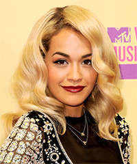 Rita Ora Hairstyle - click to view hairstyle information