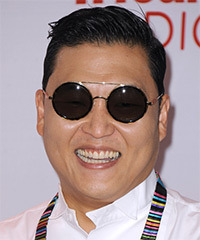 PSY Hairstyle - click to view hairstyle information