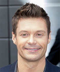 Ryan Seacrest Hairstyle - click to view hairstyle information