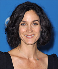 Carrie-Anne Moss Hairstyle