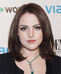 Elizabeth Gillies Hairstyle