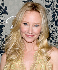 Anne Heche Long Wavy Casual