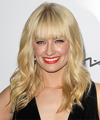 Beth Behrs Long Wavy Casual