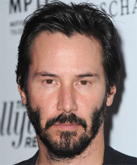 Keanu Reeves Hairstyle - click to view hairstyle information